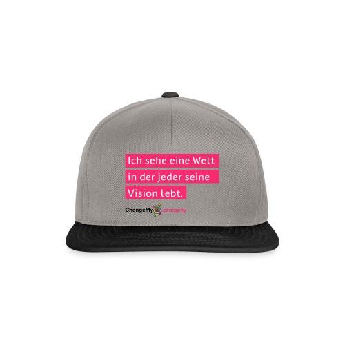 ChangeMy.Company Vision Branding - Snapback Cap