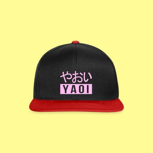 Pink Yaoi やおい - Snapback Cap