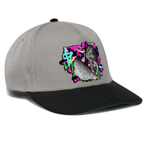 Leopard auf Bunt - Snapback Cap