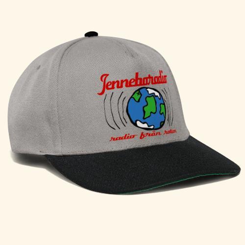 Jenneboradio -Sveriges minsta radiostation - Snapbackkeps