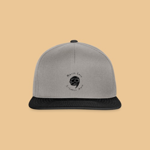Noise Less Silence More - Snapback Cap