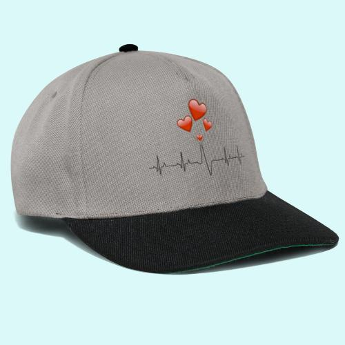 electrocardiogramme - Casquette snapback