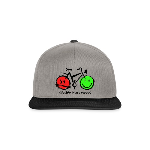 Cycling in all Moods - Trippers Textiles and Gifts - Snapback Cap