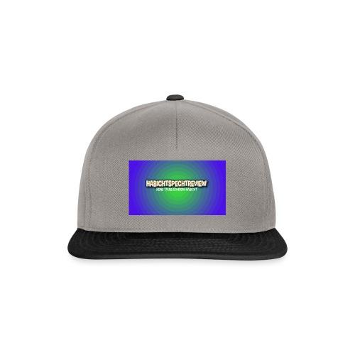 Habichtspechtreview Merch - Snapback Cap