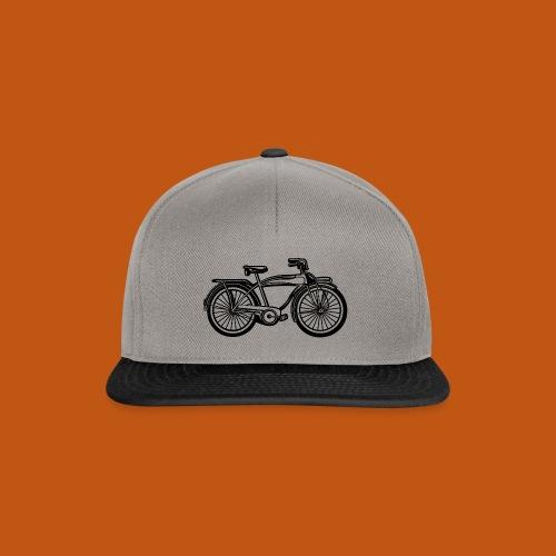 Beach Cruiser Fahrrad 01_schwarz - Snapback Cap