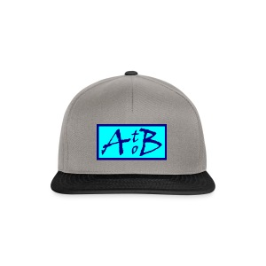 AtoB Logo light blue - Snapback Cap