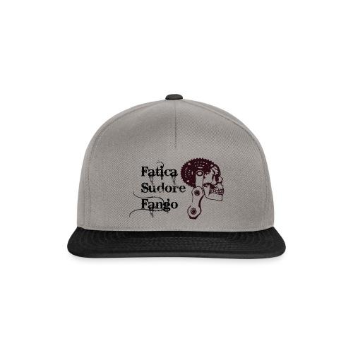 mtb_logo_fatica_fango_spr - Snapback Cap
