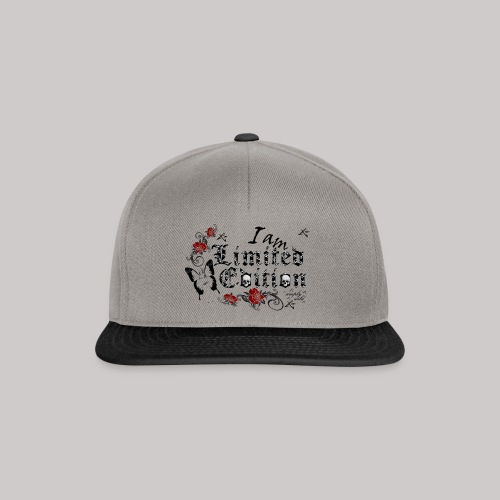 simply wild limited Edition on white - Snapback Cap