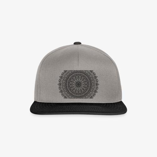 mandala3 - Snapback Cap