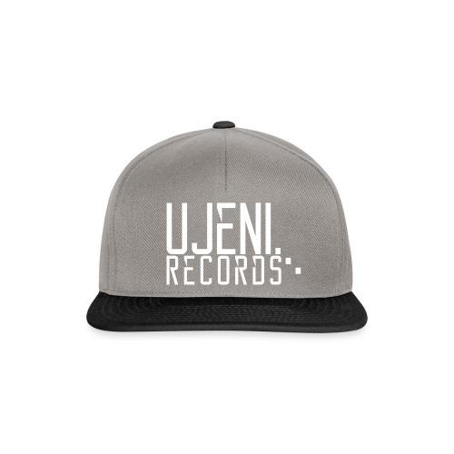 Ujeni Records Logo White - Snapback Cap