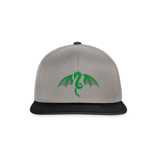 Red eyed green dragon - Snapback cap