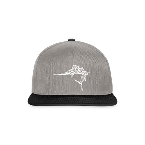 The White Marlin - Snapback Cap
