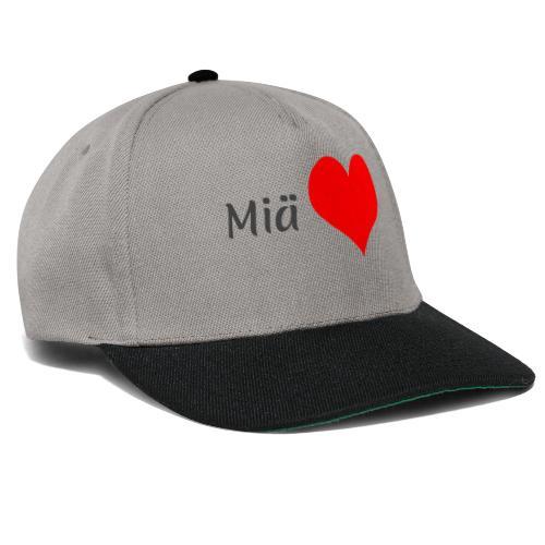 Miä sydän - Snapback Cap