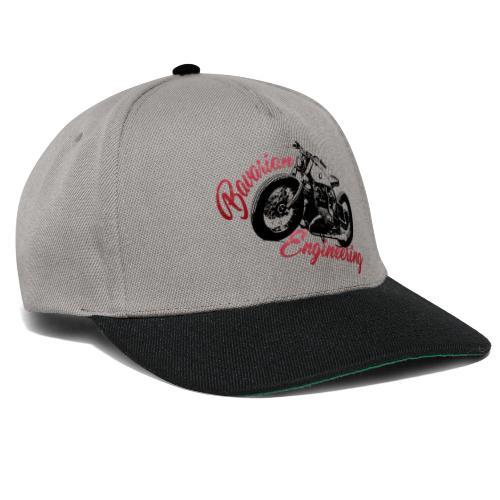 Bavarian Engineering Motorcycle - Snapback Cap