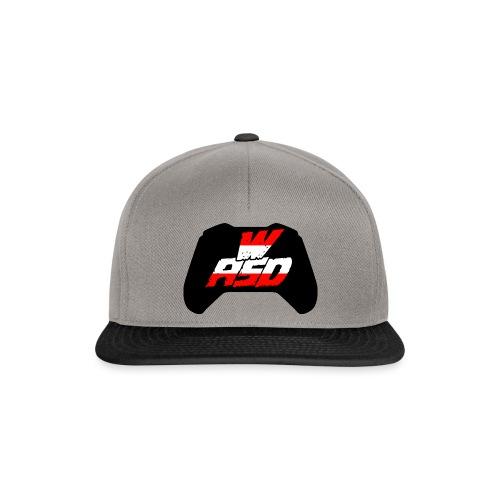 wasd logo - Snapback Cap
