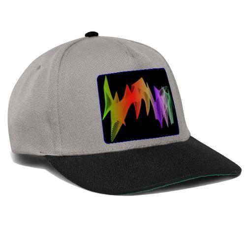 interpolierte zwei herzfrequenz - Snapback Cap