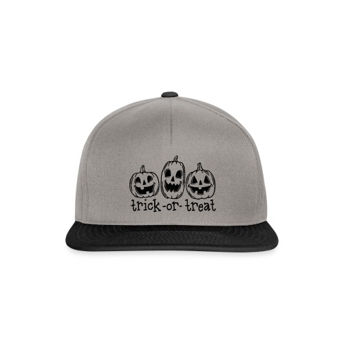 TRICK OR TREAT T-SHIRT, WOMEN'S HALLOWEEN SHIRTS - Casquette snapback