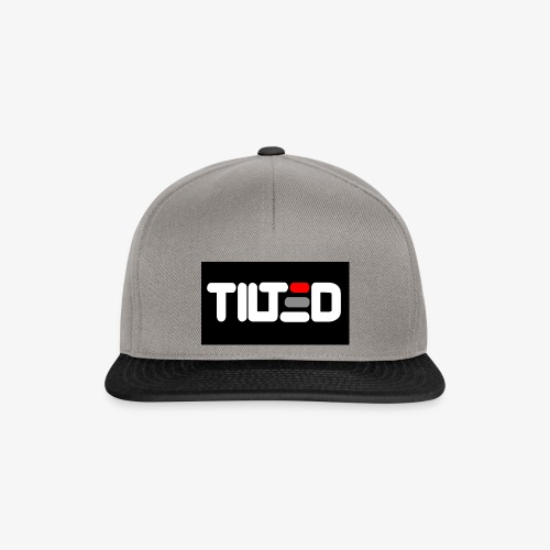 Tilted logo - Snapbackkeps