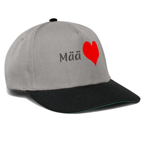 Mää sydän - Snapback Cap