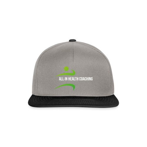 All-in Health Coaching logo - Snapback cap