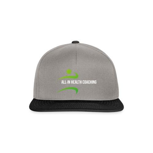 All-in Health Coaching logo - Snapback cap