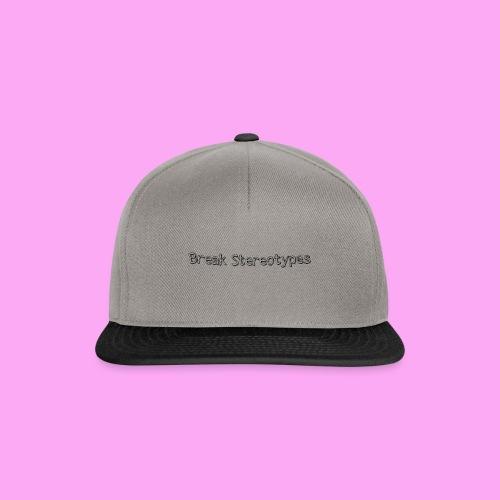 Break Stereotypes - Snapback Cap