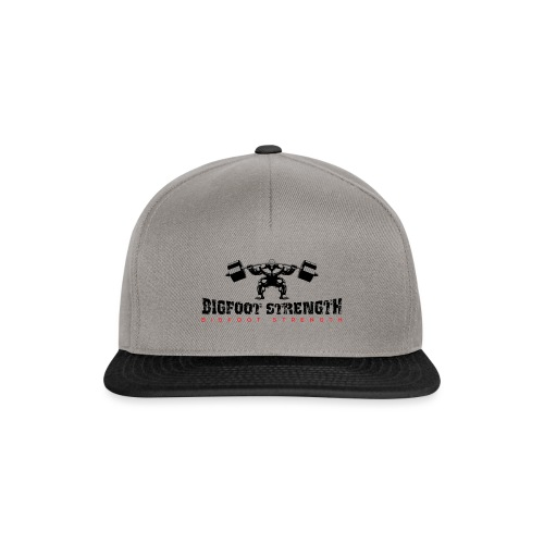Bigfoot Strength 1 - Snapback Cap