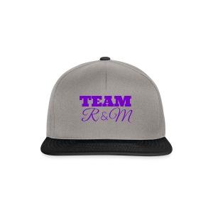 Team R N M Hoodie Purple, W - Snapback Cap