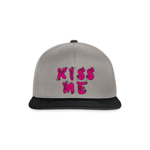 KISS ME - Snapback Cap