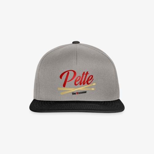 Pette the Drummer - Snapback Cap
