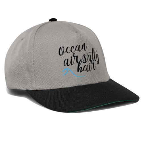 Ocean air salty hair - Snapback Cap