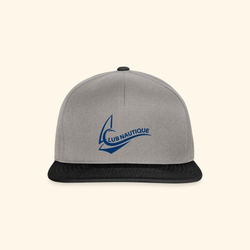 Club Nautque Logo blau - Snapback Cap