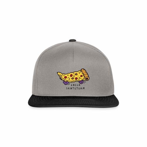 JallaSkateTeam pizza logo - Snapback-caps