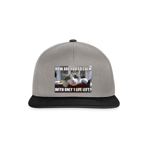 Y u so calm - Snapback Cap