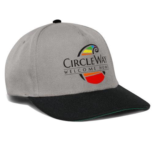 Circleway Welcome Home Logo - schwarz - Snapback Cap