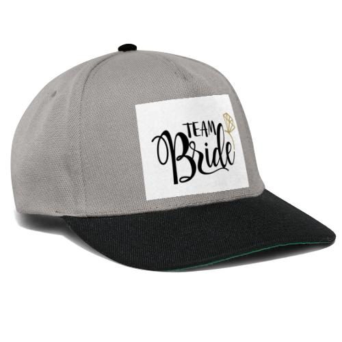 Team Bride - Snapback Cap