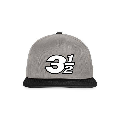 Three and a Half Logo - Snapback Cap