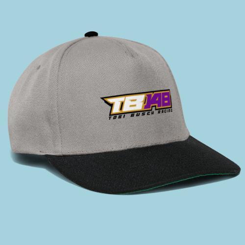 Tobi Logo schwarz - Snapback Cap