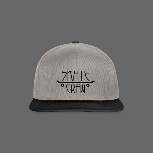 Skatecrew byKane, main Logo - Snapback Cap