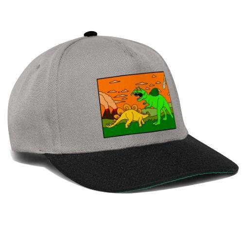 Schneckosaurier von dodocomics - Snapback Cap