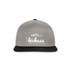 Team KikckAss - Born to do burpees - Snapbackkeps