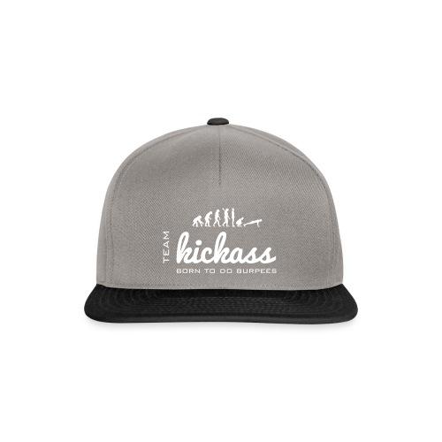 Team KikckAss - Born to do burpees - Snapbackkeps