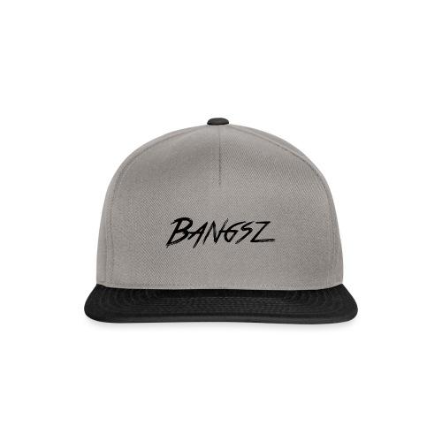 Bangsz T-shirt - Black print - Snapback cap