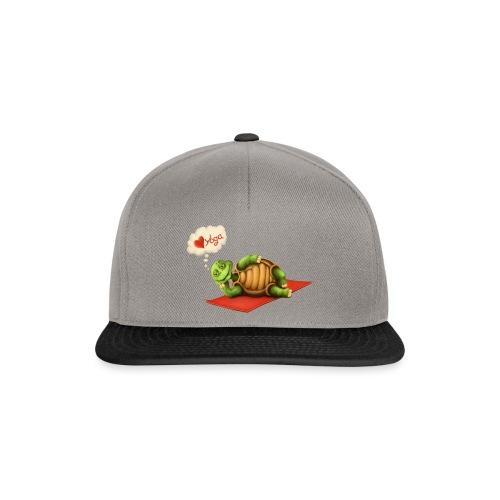 Love-Yoga Turtle - Snapback Cap