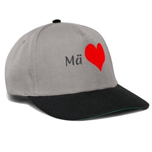 Mä sydän - Snapback Cap