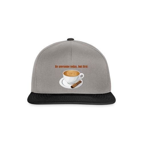 Awesome Heute Coffee - Snapback Cap
