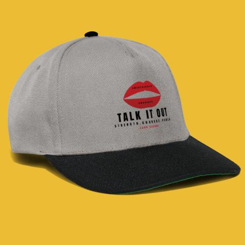 Mental Health Awareness (Talk It Out) - Snapback Cap