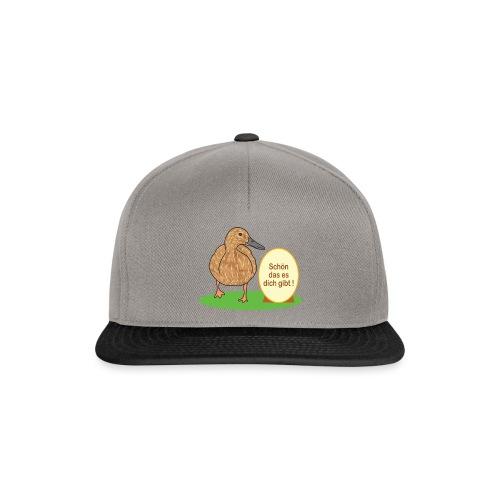 Ente mit Ei - Snapback Cap
