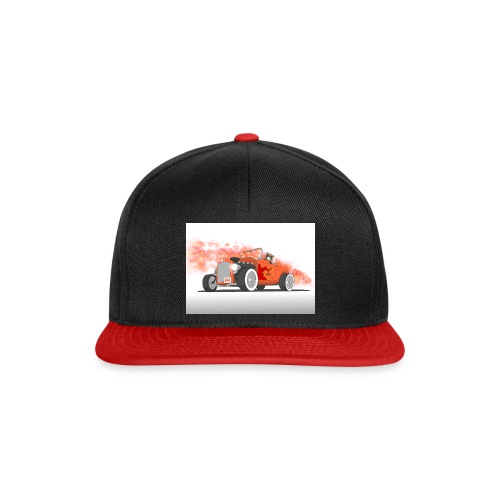 Hot Rod with flames - Snapback Cap