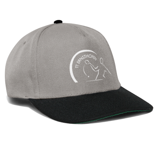 TTE Logo Weiss - Snapback Cap